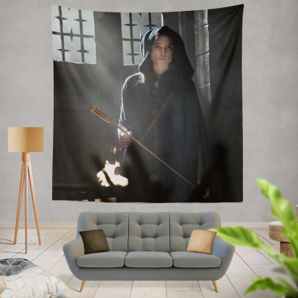 King Arthur Legend of the Sword Movie Astrid Bergès-Frisbey Wall Hanging Tapestry