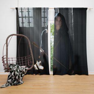King Arthur Legend of the Sword Movie Astrid Bergès-Frisbey Window Curtain