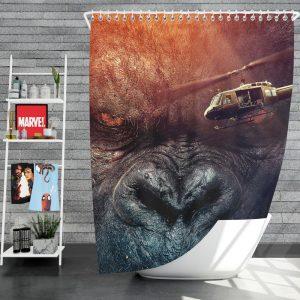 Kong Skull Island Movie Fantasy Shower Curtain