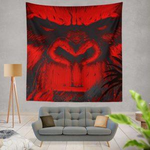 Kong Skull Island Movie Sci-fi Wall Hanging Tapestry