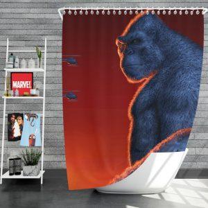 Kong Skull Island Movie Shower Curtain