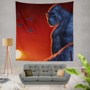 Kong Skull Island Movie Wall Hanging Tapestry