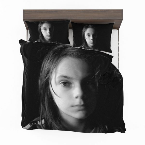 Logan Movie Dafne Keen Laura Kinney X-23 Bedding Set 2