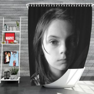 Logan Movie Dafne Keen Laura Kinney X-23 Shower Curtain
