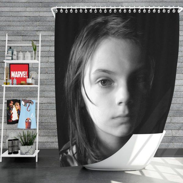 Logan Movie Dafne Keen Laura Kinney X-23 Shower Curtain