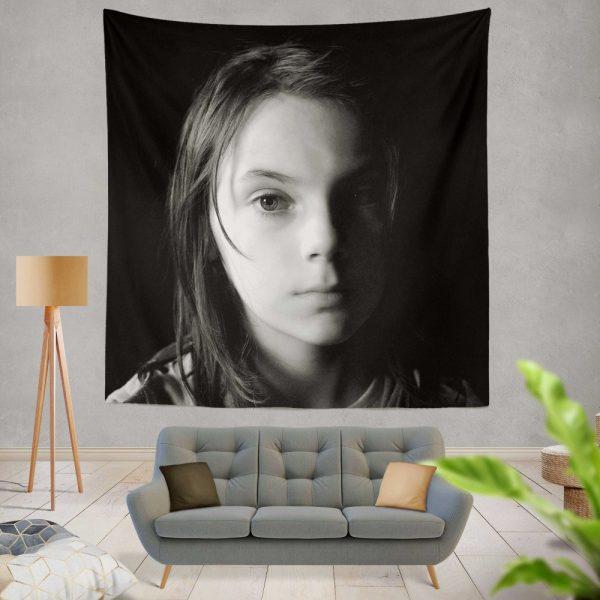 Logan Movie Dafne Keen Laura Kinney X-23 Wall Hanging Tapestry