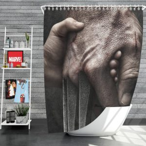 Logan Movie Hugh Jackman Laura Kinney Marvel Comics Shower Curtain