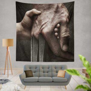 Logan Movie Hugh Jackman Laura Kinney Marvel Comics Wall Hanging Tapestry