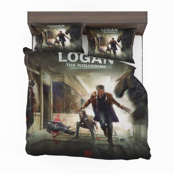 Logan Movie Wolverine X-23 Bedding Set 2