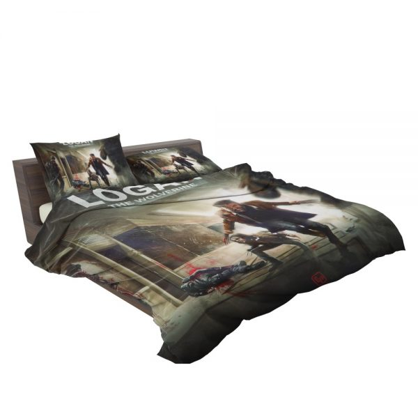 Logan Movie Wolverine X-23 Bedding Set 3