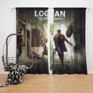 Logan Movie Wolverine X-23 Window Curtain