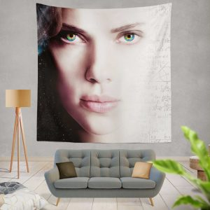 Lucy Movie Scarlett Johansson Wall Hanging Tapestry