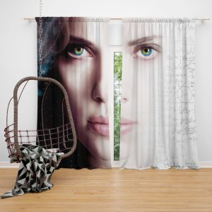 Lucy Movie Scarlett Johansson Window Curtain