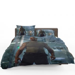 Luke Hobbs Dwayne Johnson in Furious 7 Fast & Furious Movie Bedding Set 1