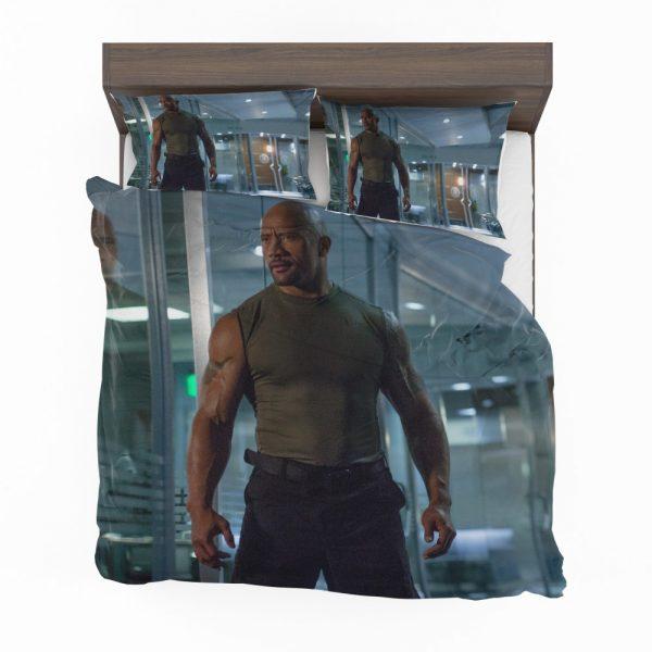 Luke Hobbs Dwayne Johnson in Furious 7 Fast & Furious Movie Bedding Set 2