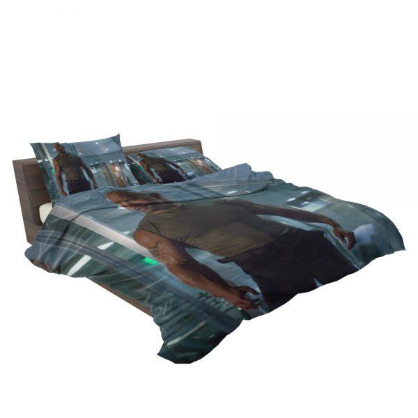 Luke Hobbs Dwayne Johnson in Furious 7 Fast & Furious Movie Bedding Set 3