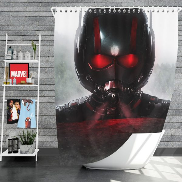 MCU Ant-Man Movie Shower Curtain