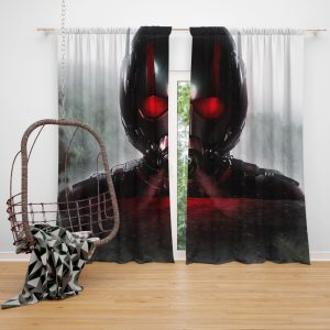 MCU Ant-Man Movie Window Curtain