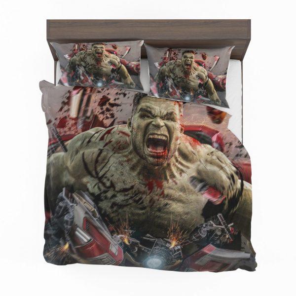 MCU Avengers Endgame Movie Hulk Bedding Set 2