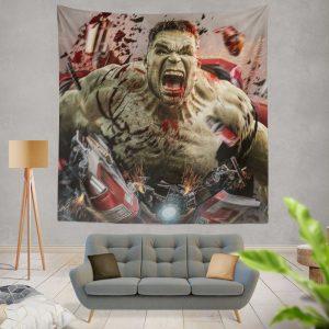 MCU Avengers Endgame Movie Hulk Wall Hanging Tapestry