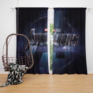 MCU Avengers Endgame Movie Marvel Comics Window Curtain