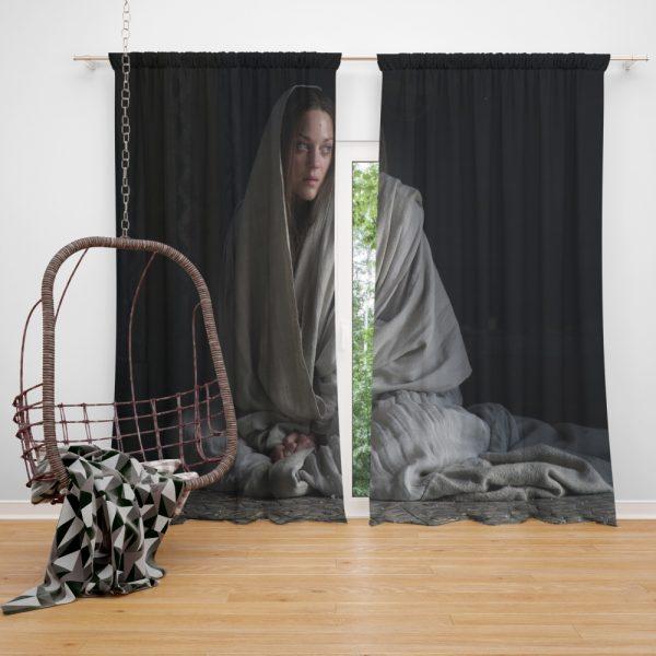 Macbeth Movie Lady Macbeth Marion Cotillard Window Curtain
