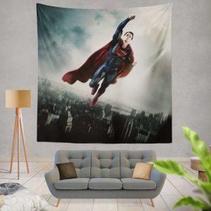Man Of Steel Movie Superman Wall Hanging Tapestry