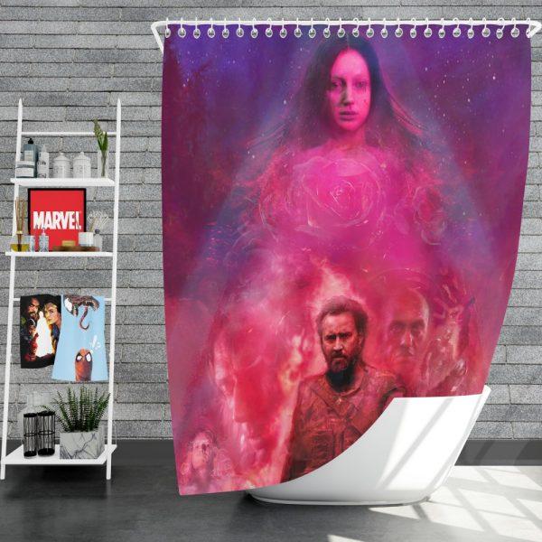 Mandy Movie Andrea Riseborough Nicolas Cage Shower Curtain