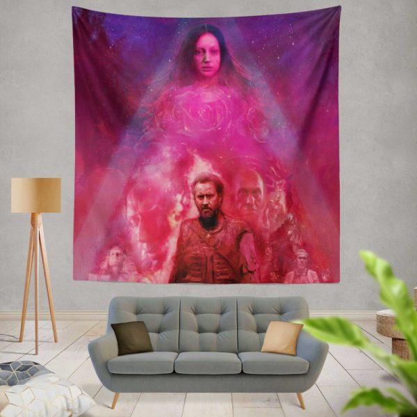 Mandy Movie Andrea Riseborough Nicolas Cage Wall Hanging Tapestry