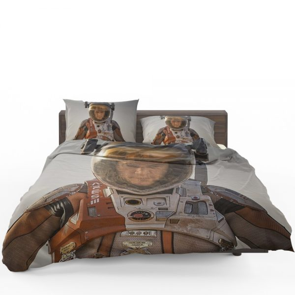 Mark Watney Matt Damon in The Martian Movie Bedding Set 1