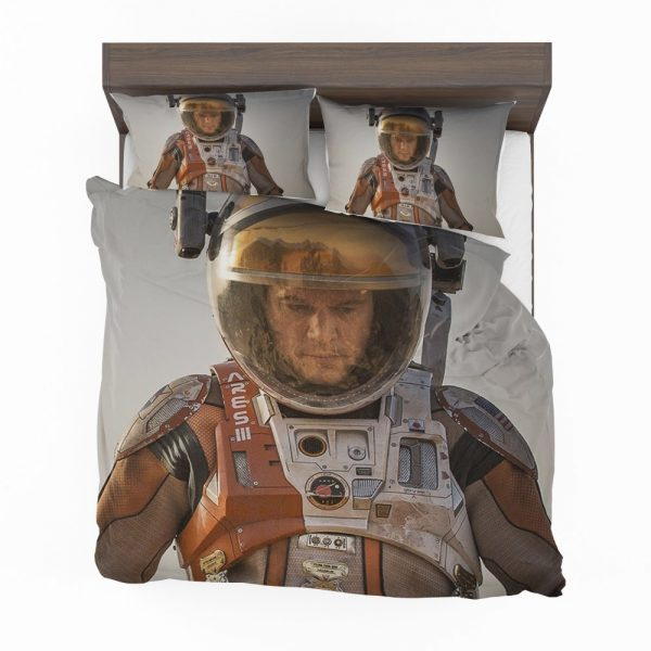 Mark Watney Matt Damon in The Martian Movie Bedding Set 2