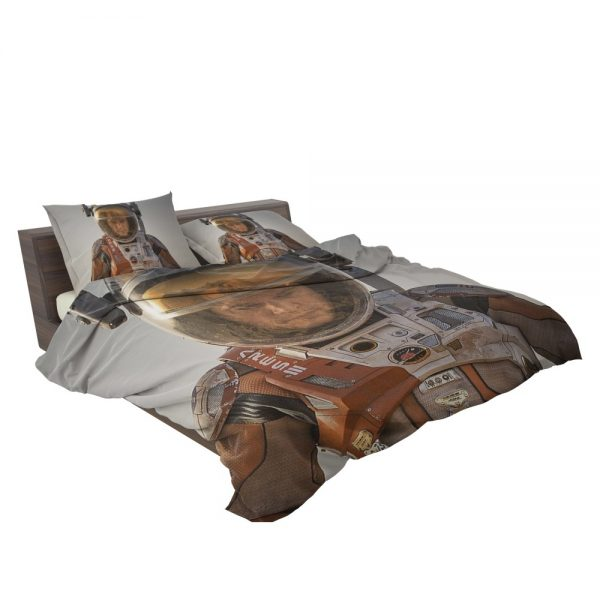 Mark Watney Matt Damon in The Martian Movie Bedding Set 3