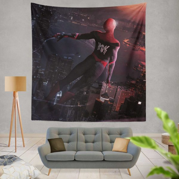 Marvel Comics Spider-Man Far From Home Peter Parker Wall Hanging Tapestry