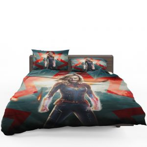 Marvel MCU Captain Marvel Movie Brie Larson Bedding Set 1