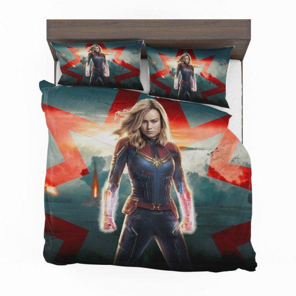 Marvel MCU Captain Marvel Movie Brie Larson Bedding Set 2