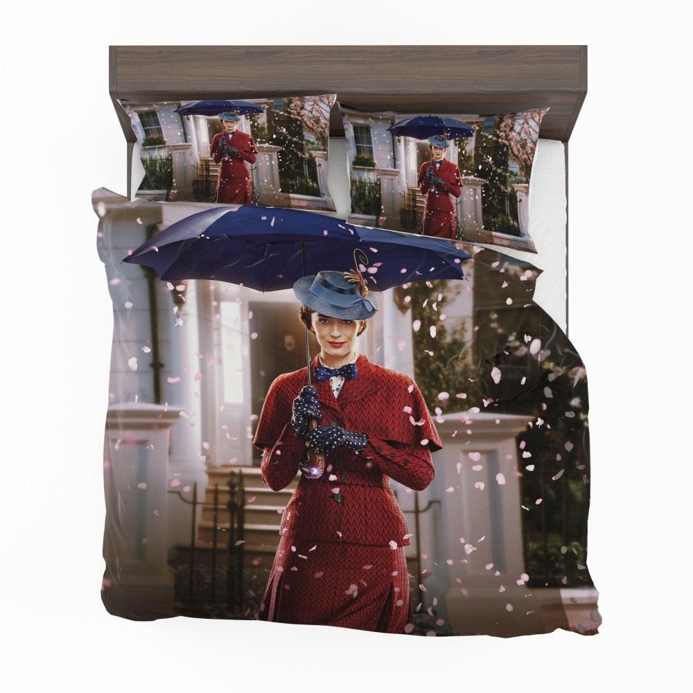 Mary Poppins Returns Movie Emily Blunt Bedding Set