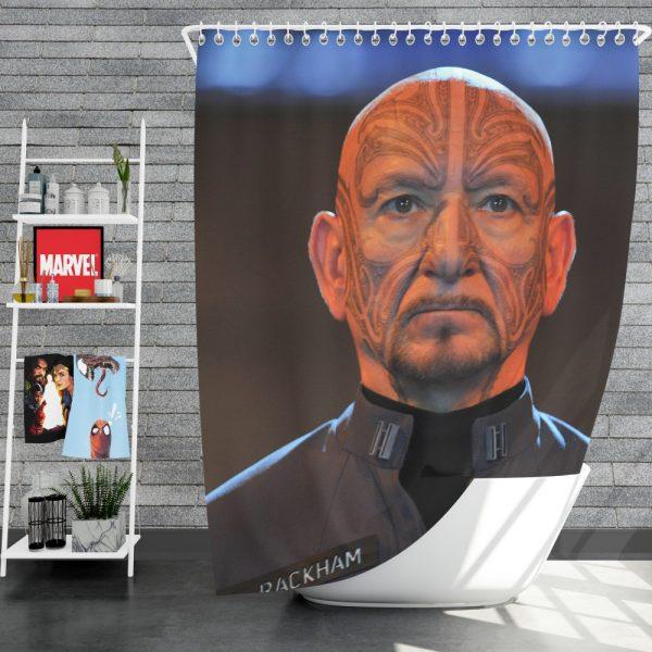 Mazer Rackham in Ender's Game Movie Shower Curtain