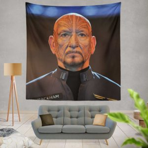 Mazer Rackham in Ender's Game Movie Wall Hanging Tapestry
