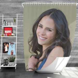 Mia Toretto Jordana Brewster in Furious 7 Fast & Furious Movie Shower Curtain