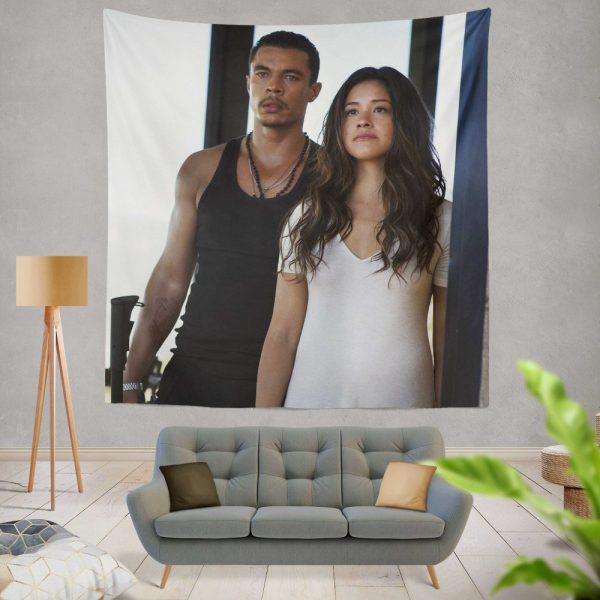 Miss Bala Movie Gina Rodriguez Wall Hanging Tapestry