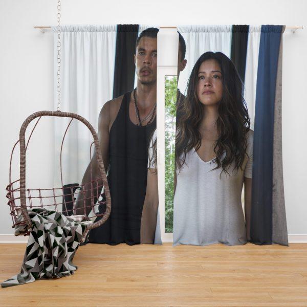 Miss Bala Movie Gina Rodriguez Window Curtain