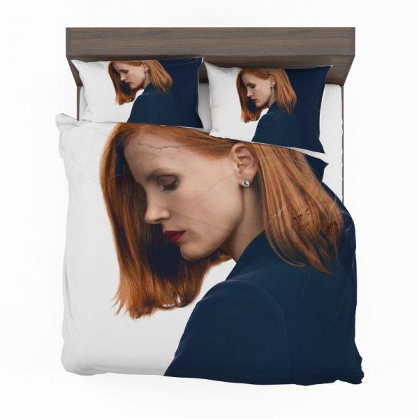 Miss Sloane Movie Jessica Chastain Bedding Set 2