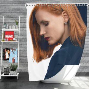 Miss Sloane Movie Jessica Chastain Shower Curtain