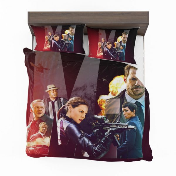 Mission Impossible - Fallout Movie Alan Hunley August Walker Benji Dunn Ethan Hunt Henry Cavill Bedding Set 2