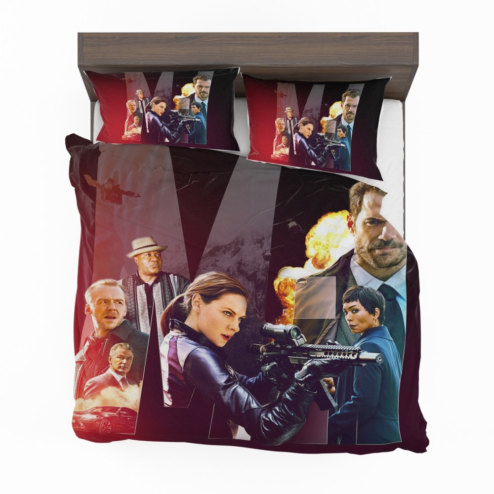 Mission Impossible - Fallout Movie Alan Hunley August Walker Benji Dunn  Ethan Hunt Henry Cavill Bedding Set | EBeddingSets
