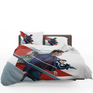 Mission Impossible Fallout Movie August Walker Ethan Hunt Henry Cavill Ilsa Faust Bedding Set 1