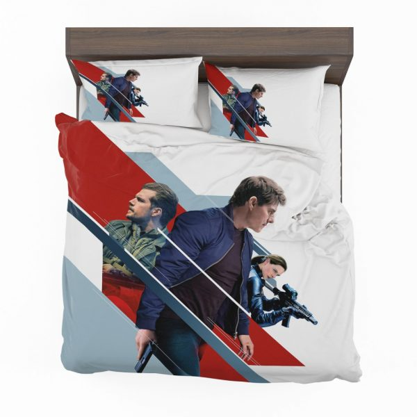 Mission Impossible Fallout Movie August Walker Ethan Hunt Henry Cavill Ilsa Faust Bedding Set 2