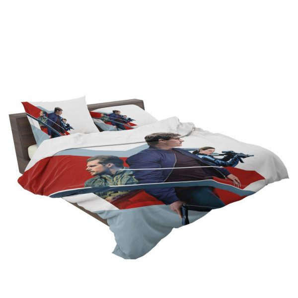 Mission Impossible Fallout Movie August Walker Ethan Hunt Henry Cavill Ilsa Faust Bedding Set 3