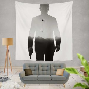 Mission Impossible Fallout Movie Ethan Hunt Tom Cruise Wall Hanging Tapestry