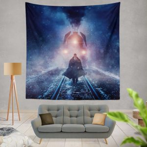 Murder on the Orient Express 2017 Movie Wall Hanging Tapestry